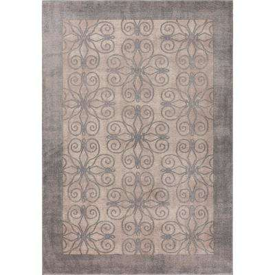 Winston Greige Looking Glass 9 ft. x 13 ft. Area Rug