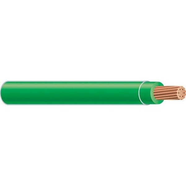 (By-the-Foot) 8 Green Stranded CU SIMpull THHN Wire