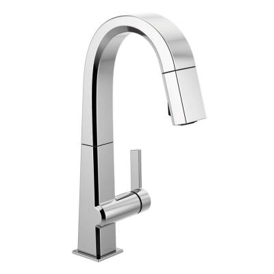 Pivotal Single-Handle Bar Faucet with MagnaTite Docking in Chrome
