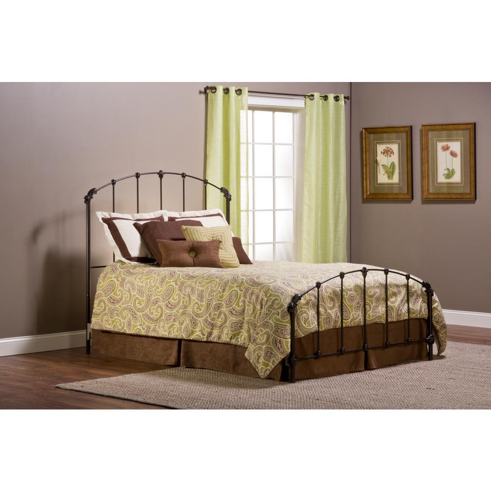 Hillsdale Bonita Copper Mist Queen Bed Frame