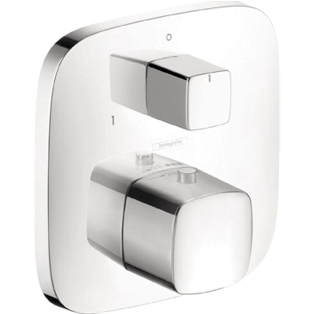 Hansgrohe PuraVida Thermostatic Trim with Volume Control and ...