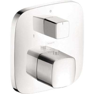 PuraVida Thermostatic Trim with Volume Control and Diverter in Chrome