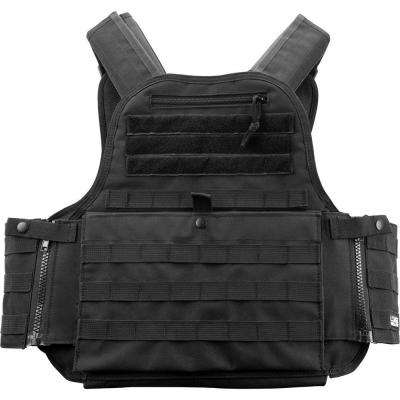 Loaded Gear 22.5 in. VX-500 Plate Carrier Tactical Vest, Black
