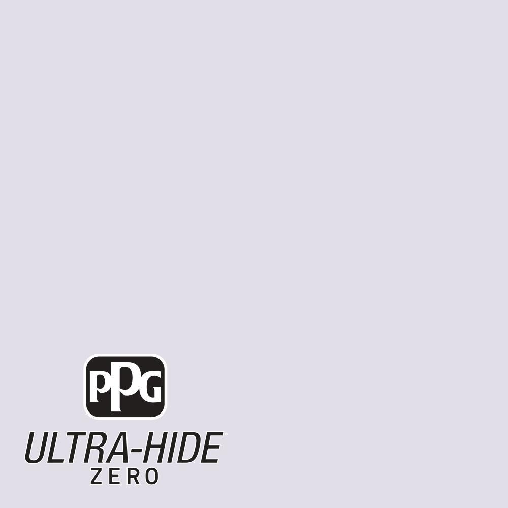PPG 5 gal. #HDPV48U Ultra-Hide Zero Icy Lilac Eggshell Interior Paint