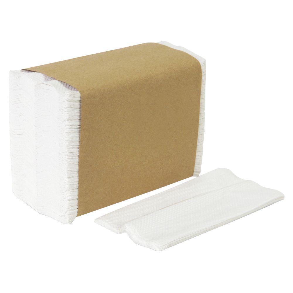 Georgia-Pacific HyNap White Tall Fold Dispenser Napkins (250-Pack)