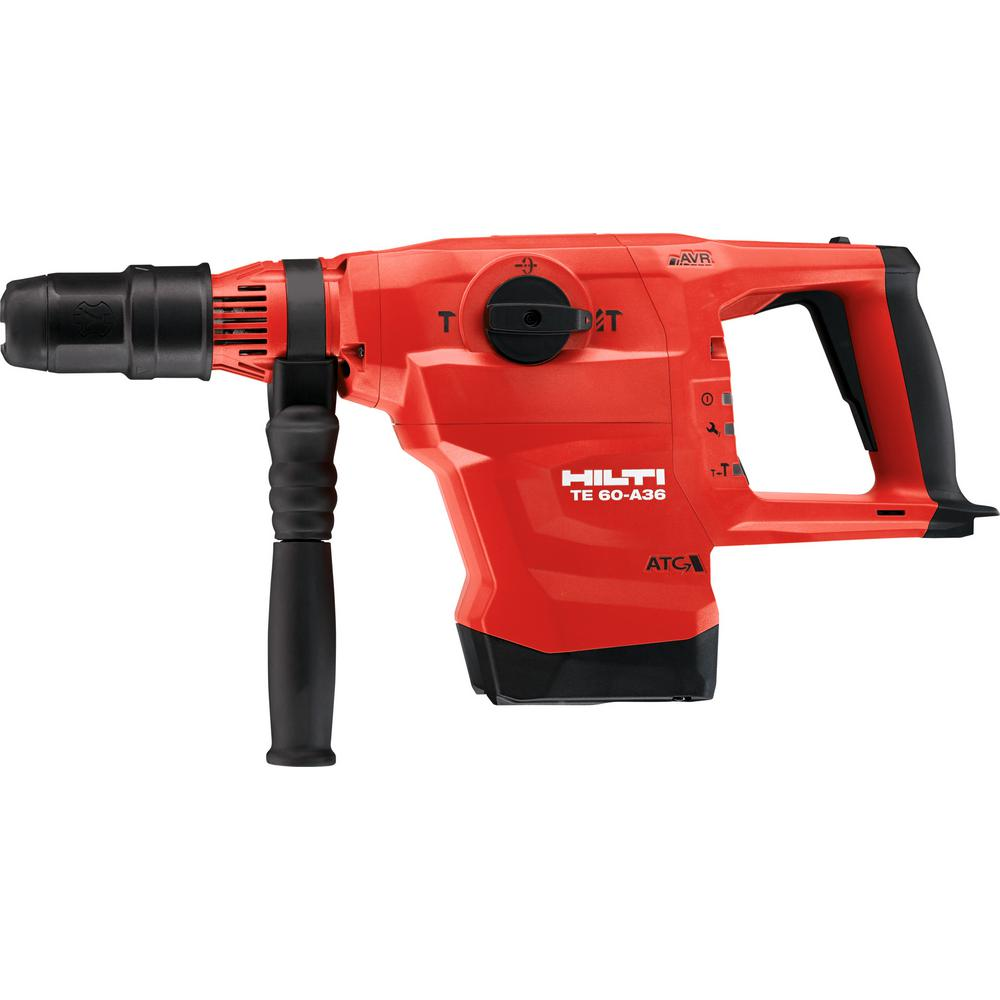 Hilti 36-Volt TE 60-A36 Cordless Brushless SDS-Max Combination Rotary Hammer with Active Vibration Reduction (Tool Body-Only)