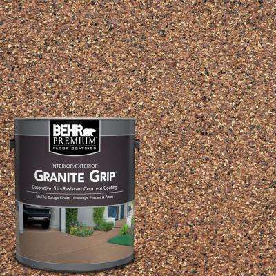 1 gal. #GG-10 Copper Marble Decorative Flat Interior/Exterior Concrete Floor Coating