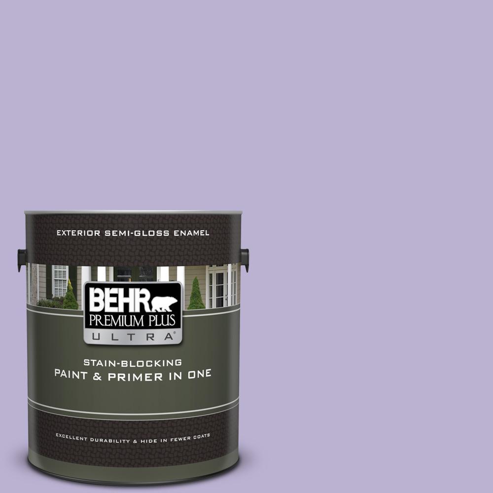 BEHR Premium Plus Ultra 1 gal. #M560-3 Grape Hyacinth Sem...