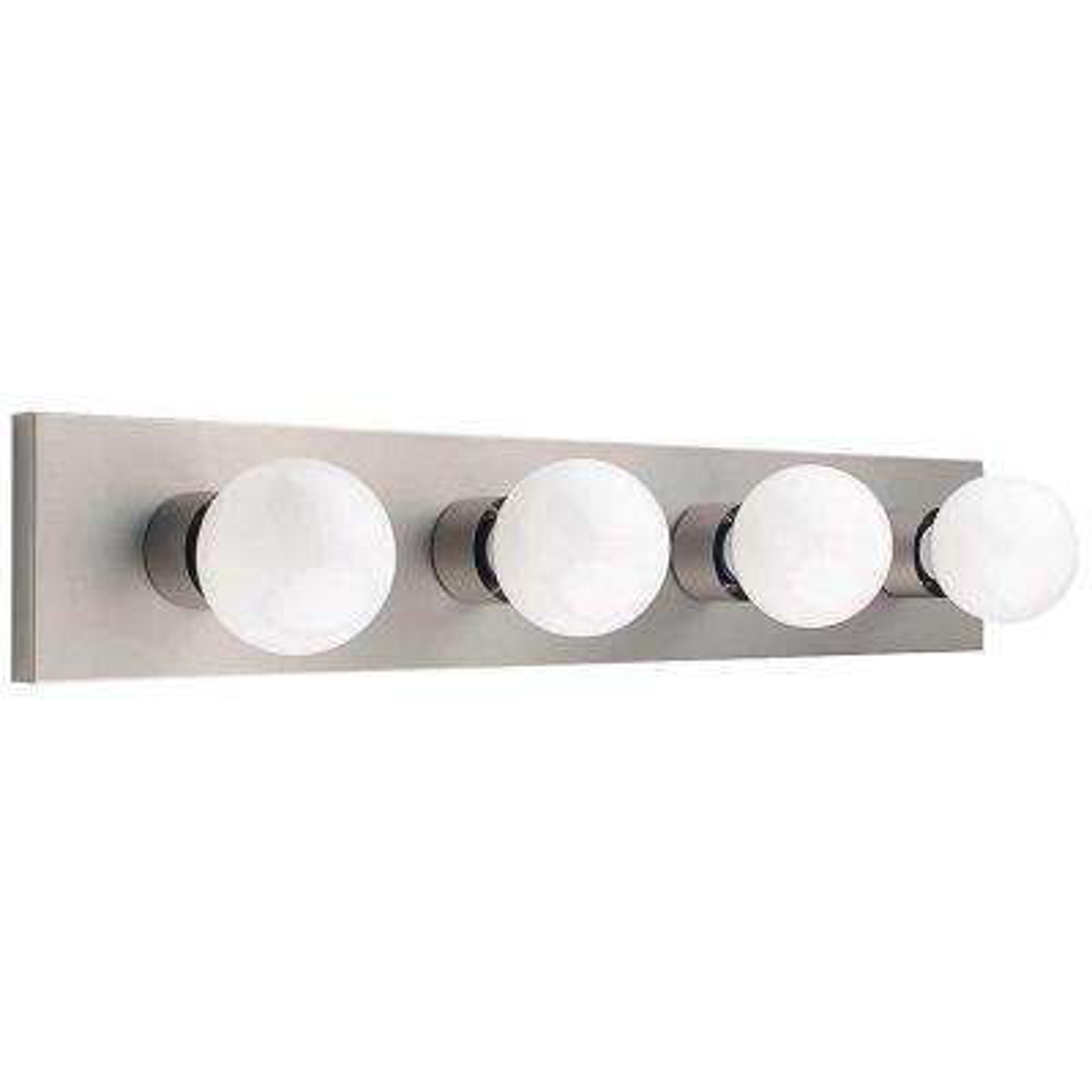 Edgewater 4-Light Satin Nickel Bath Light