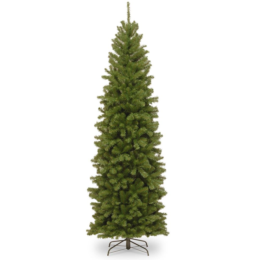 National Tree Company 9 ft. North Valley Spruce Pencil Slim ...