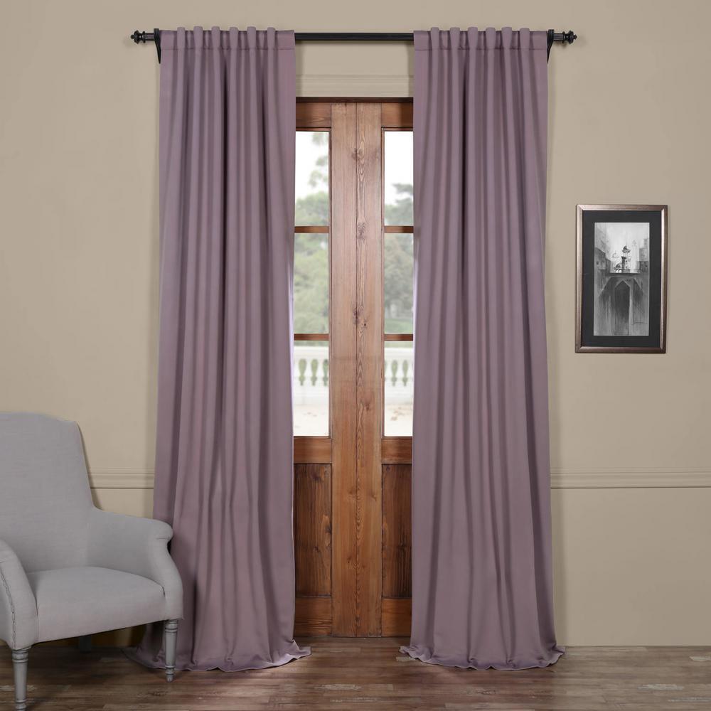 Purple Rain Blackout Room Darkening Curtain - 50 in. W x 84 in. L