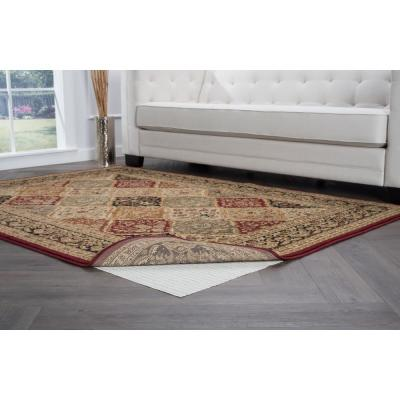 Comfort Grip Ivory 5 ft. x 7 ft. Rug Pad