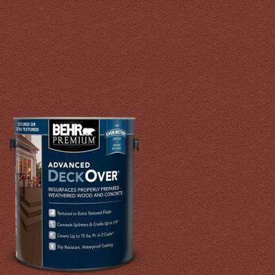 1 gal. #SC-330 Redwood Textured Solid Color Exterior Wood and Concrete Coating