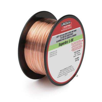 .030 in. SuperArc L-56 ER70S-6 MIG Welding Wire for Mild Steel (2 lb. Spool)
