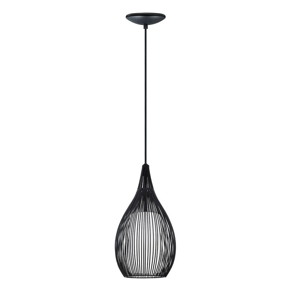 and black fixture p lights metal pendant glass material