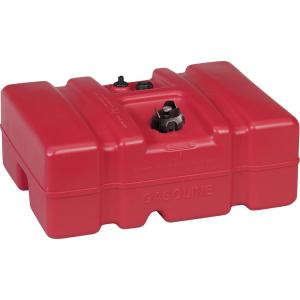 12 Gal. Low Perm Certified Fuel Tank with 1/4 inch Fuel Pick-Up Adapter and...
