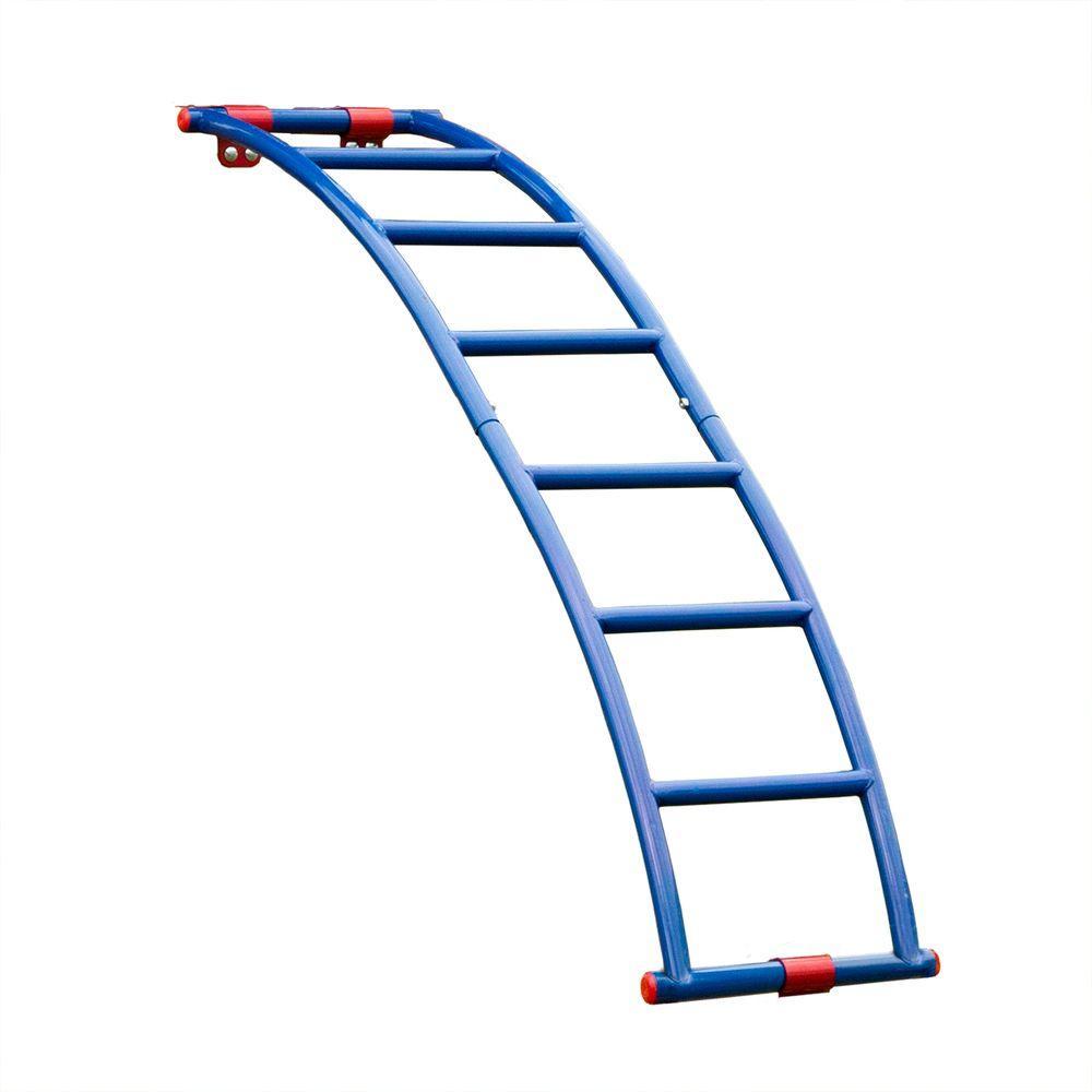 Swing-N-Slide Playsets Flex-Arch Playset Metal Ladder, Red/Blue
