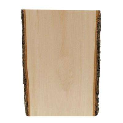 Medium Thick Basswood Country Plank