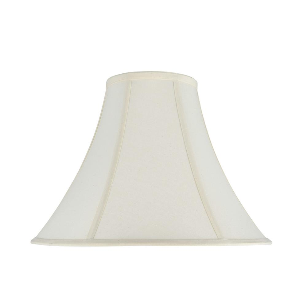 1aaa52fd1920 Aspen Creative Corporation 16 in. x 12 in. Ivory Bell Lamp Shade ...