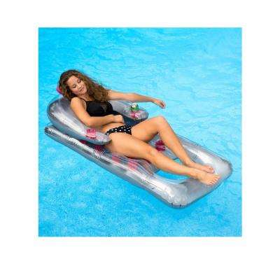 66 in. x 31 in. Dark Magenta Chaise Lounger