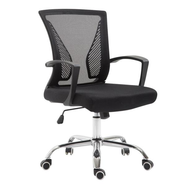 Poly and Bark Chartwell Office Chair in Black
