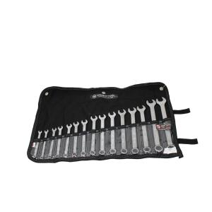 Wright Tool WrightGrip 12-Point Metric Combination Wrench Set (15-Piece) by Wright Tool