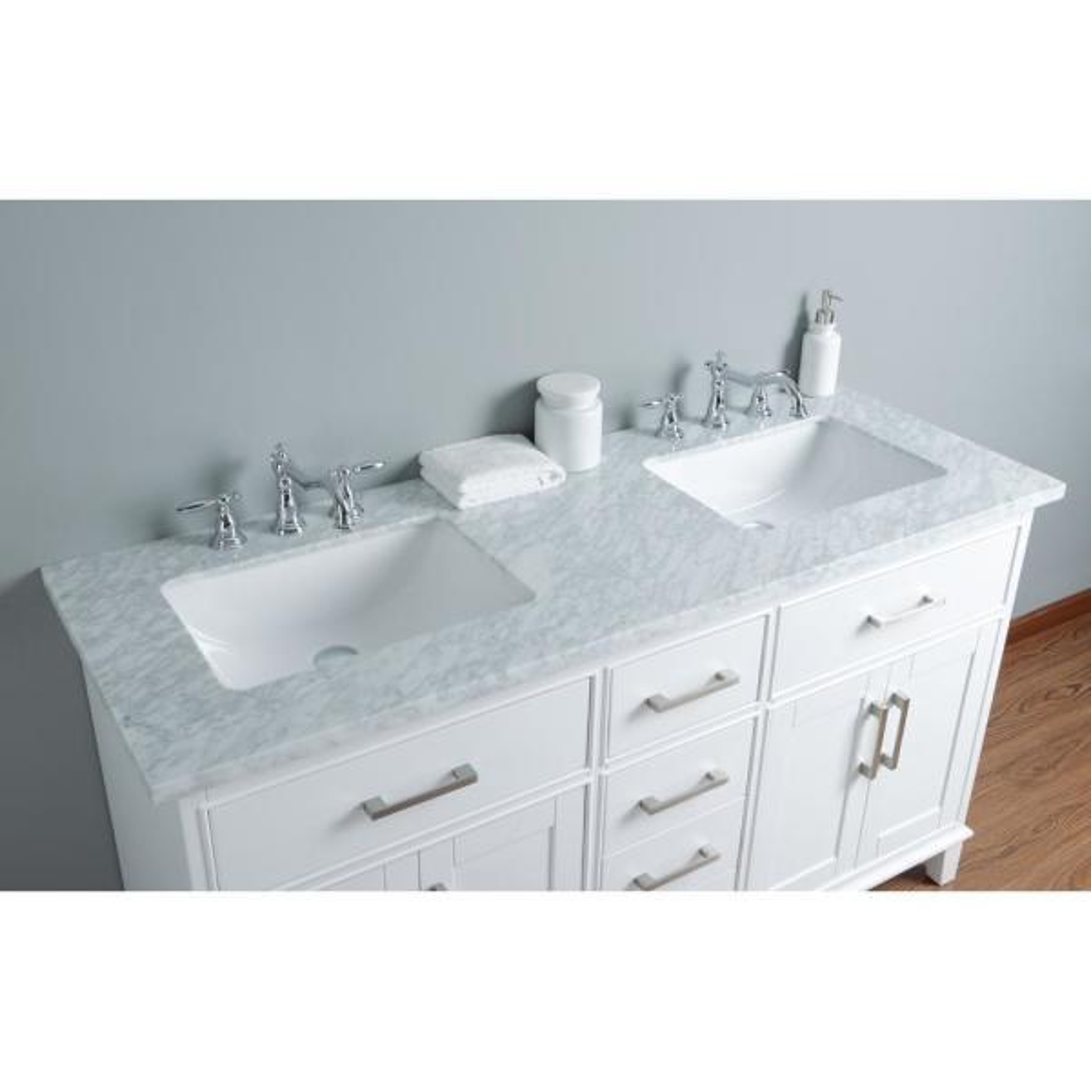 Leigh Double Sink Bathroom Vanity