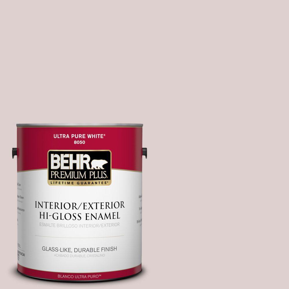 1-gal. #N150-1 Mocha Ice Hi-Gloss Enamel Interior/Exterior Paint