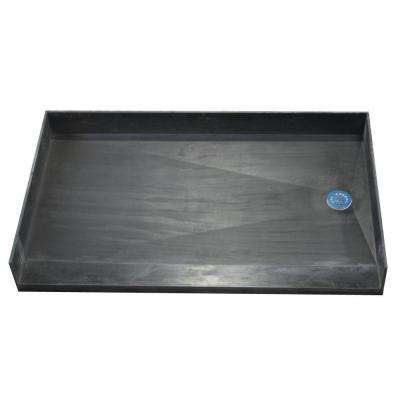 33 in. x 54 in. Barrier Free Shower Base with Right Drain