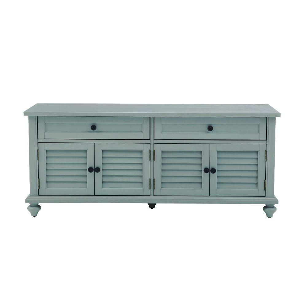 Home Decorators Collection Hamilton Distressed Grey Bench