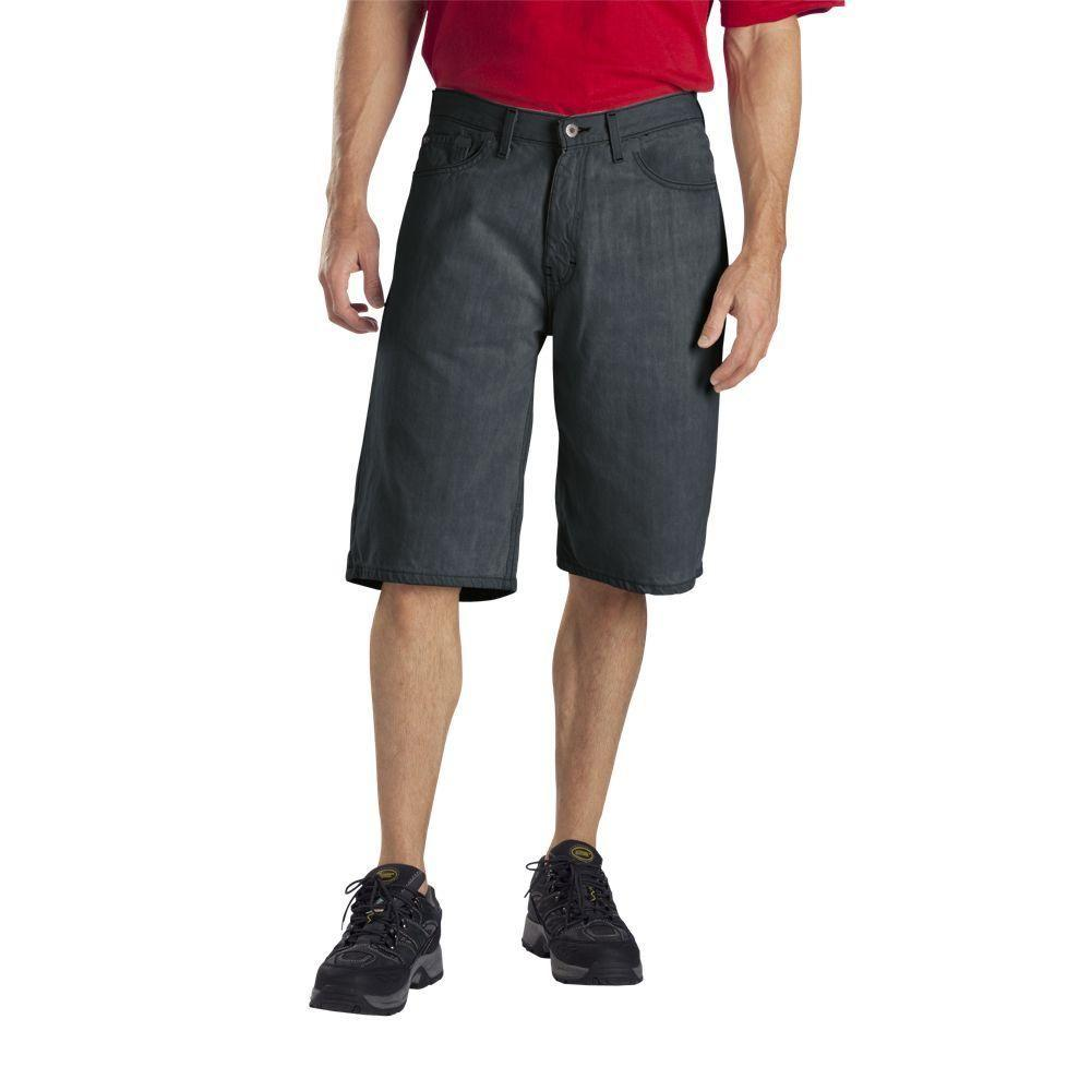 Dickies Relaxed Fit 38 in. x 13 in. Cotton Utility Short Khaki-DISCONTINUED