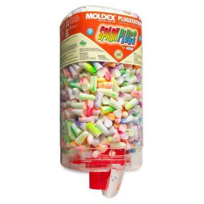 Spark Plug Foam Ear Plugs Station 500-Count