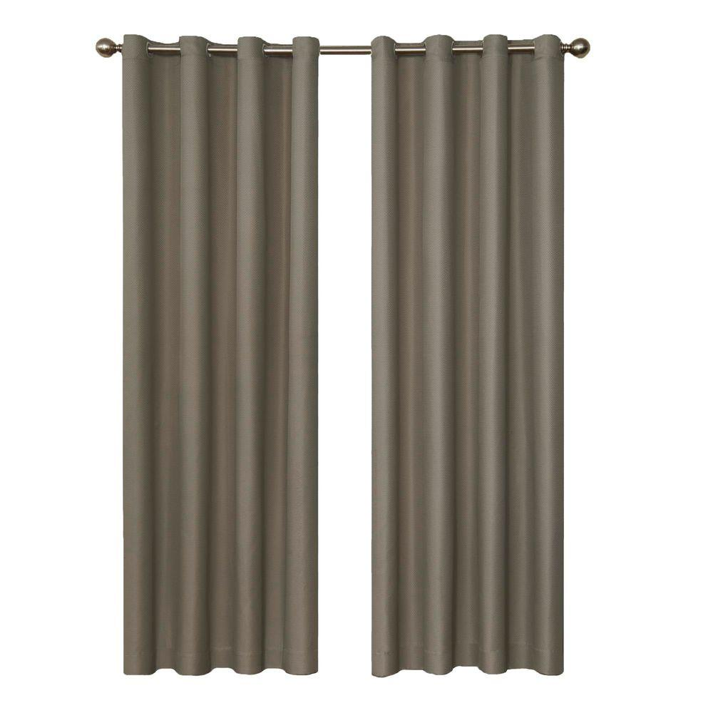 Dane Blackout Smoke Curtain Panel, 95 in. Length (Price Varies by
