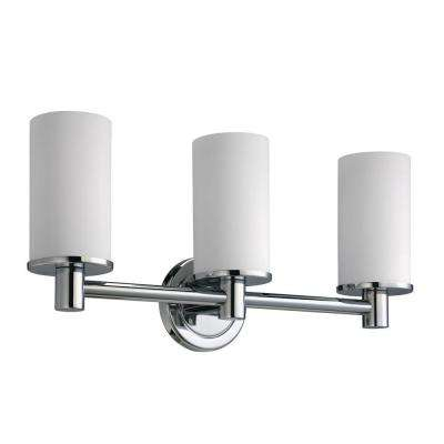 Latitude II 3-Light Chrome Sconce