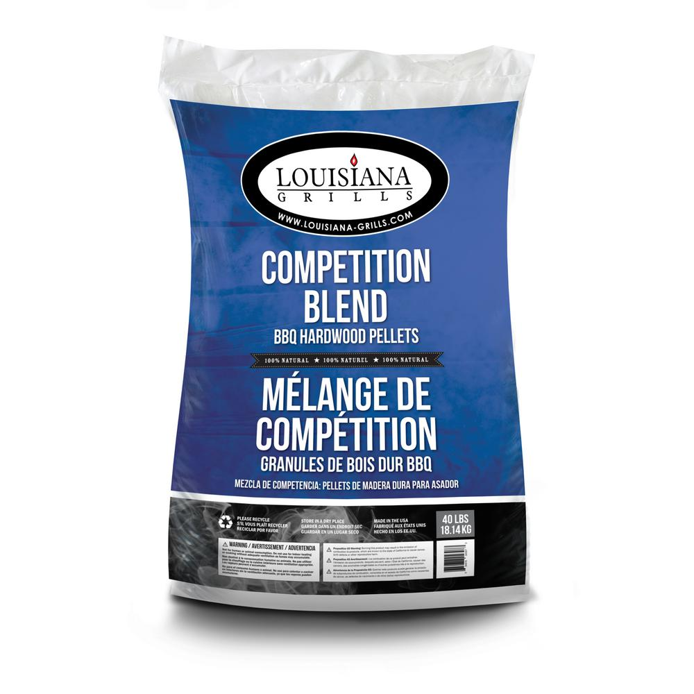 Louisiana Grills 40 lb. Competition Blend All Natural Hardwood Pellets