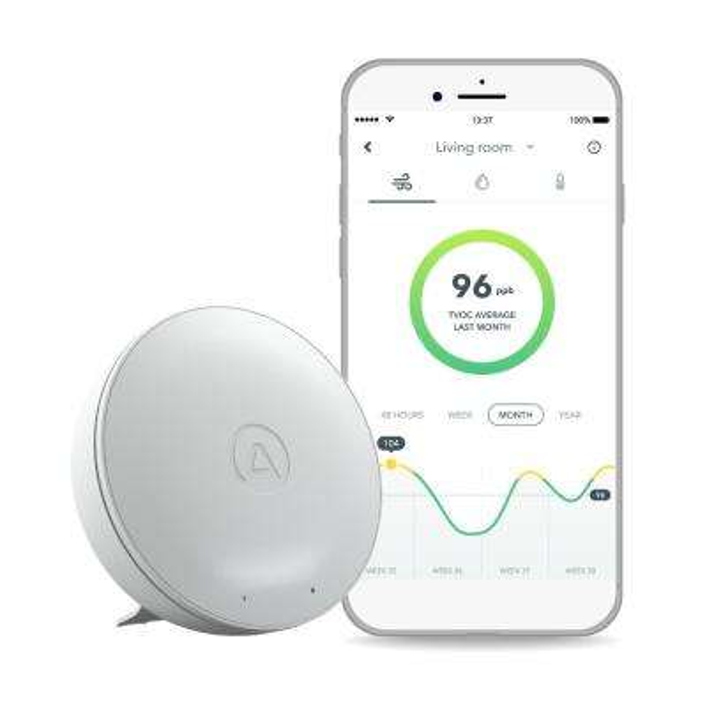 Wave Mini Smart Indoor TVOC Air Quality Detector