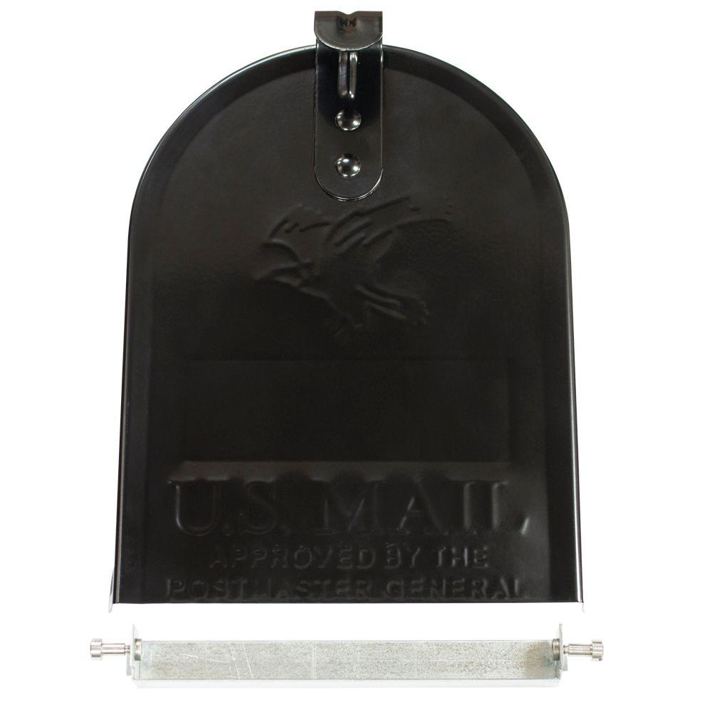 Gibraltar Mailboxes Replacement Door Kit for Standard Size Mailbox Black  sc 1 st  The Home Depot : mailbox door - pezcame.com