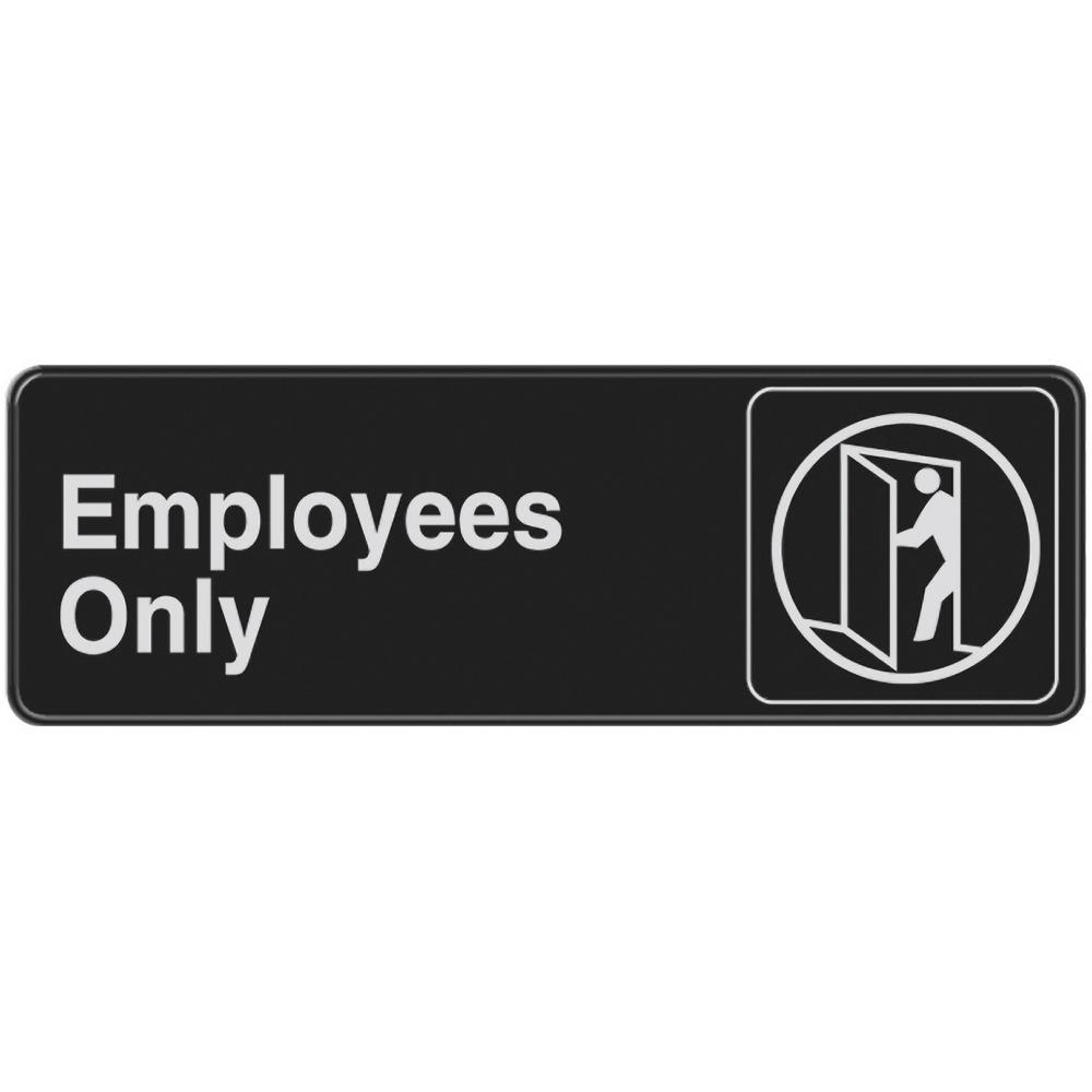 Everbilt Employees Only Sign