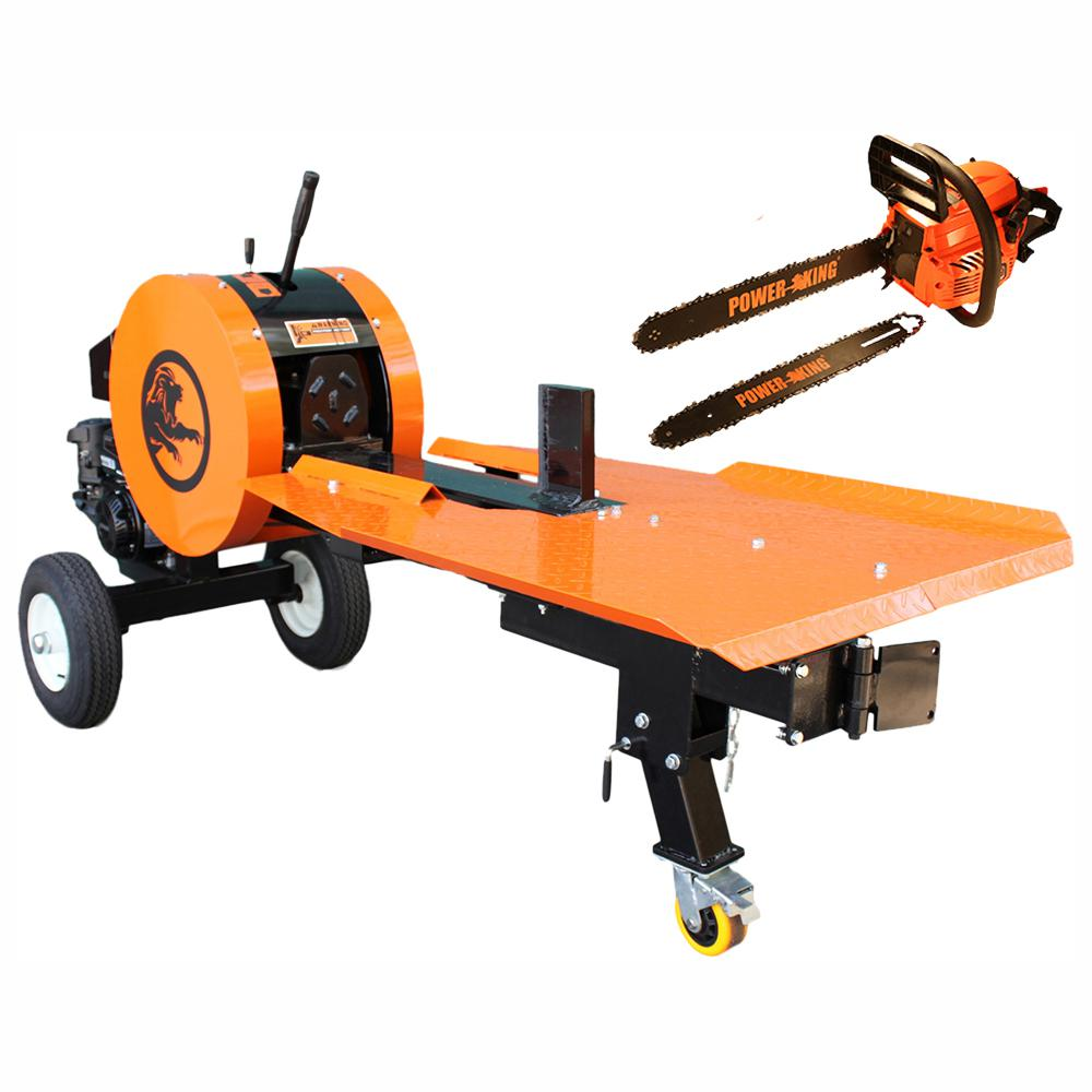 326159d78556 42-Ton 7 HP 208 cc Gas Horizontal Kinetic Log Splitter with KOHLER Pro  Engine