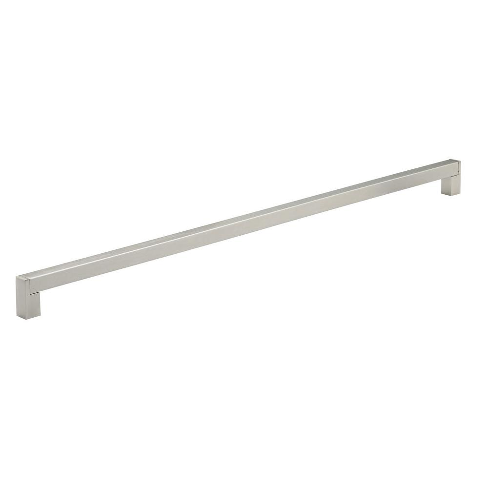 in 576 mm brushed nickel cabinet pull
