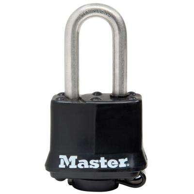 1-9/16 in. Covered Laminated Stainless Steel Keyed Padlock with 1-1/2 in. Shackle
