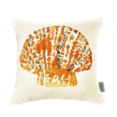Seashell Multicolor Decorative Pillow