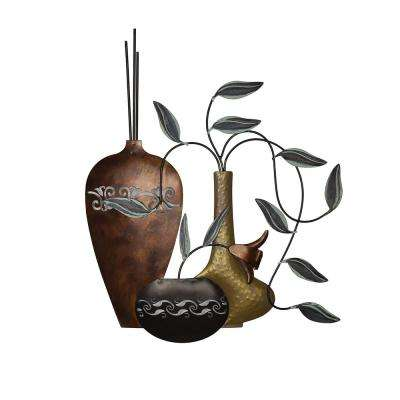 Paulina Vases Metal Wall Art