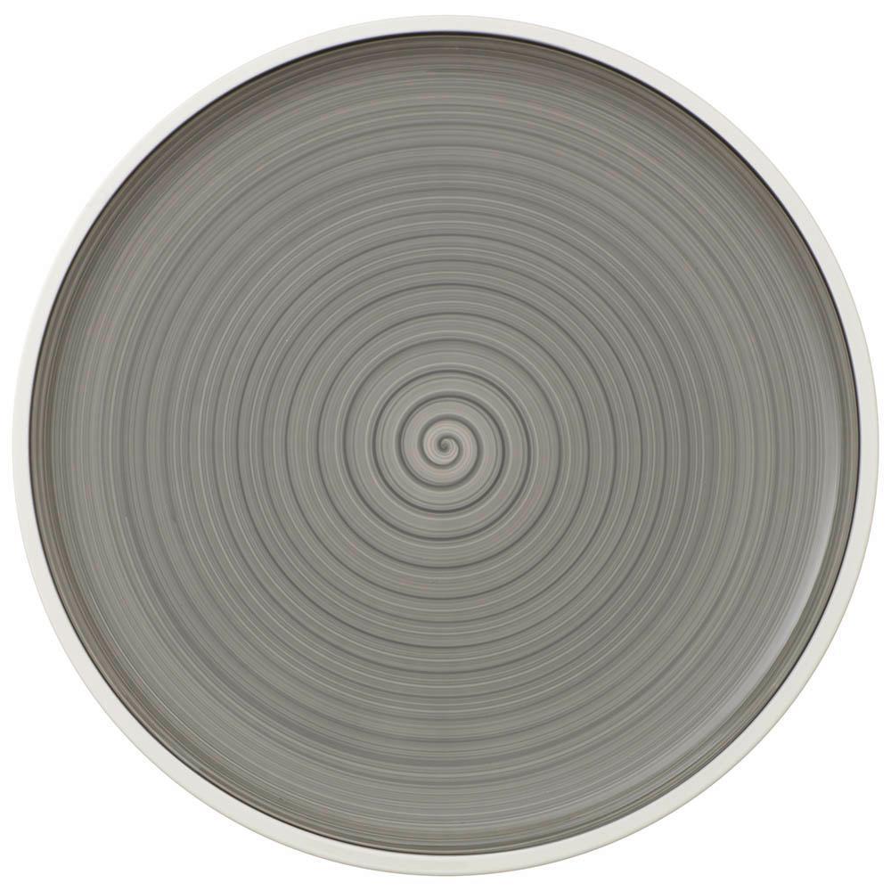 Villeroy & Boch Manufacture Gris 12-1/2 in. Buffet Plate 1042312590