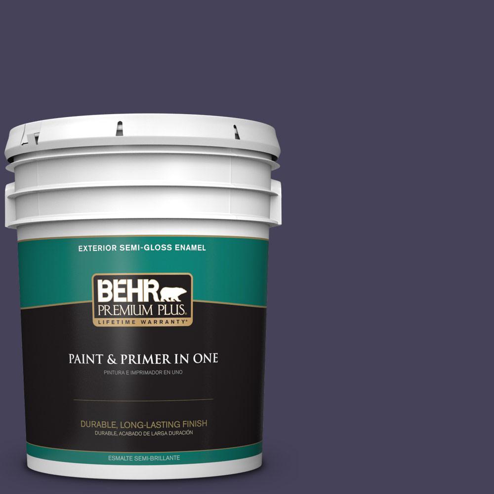 5 gal. #PPU16-20 Renaissance Semi-Gloss Enamel Exterior Paint