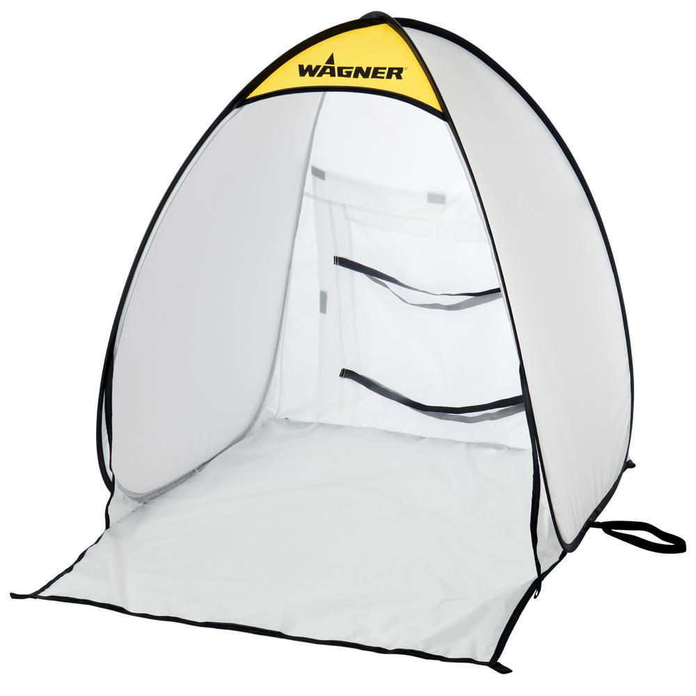 Wagner 2.9 x 2.5 White Polyester Small Spray Shelter