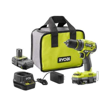18-Volt ONE+ Lithium-Ion Cordless Brushless 1/2 in. Drill/driver with (2) 2.0 Ah Batteries, Charger, and Bag