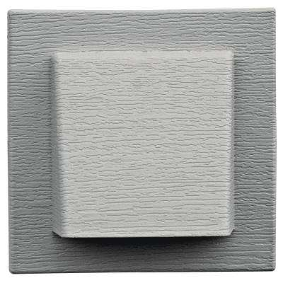 8 in. x 7.875 in. Paintable Water Management 4 in. Hooded Vent