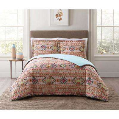 Allegra Oranges Twin XL Comforter Set