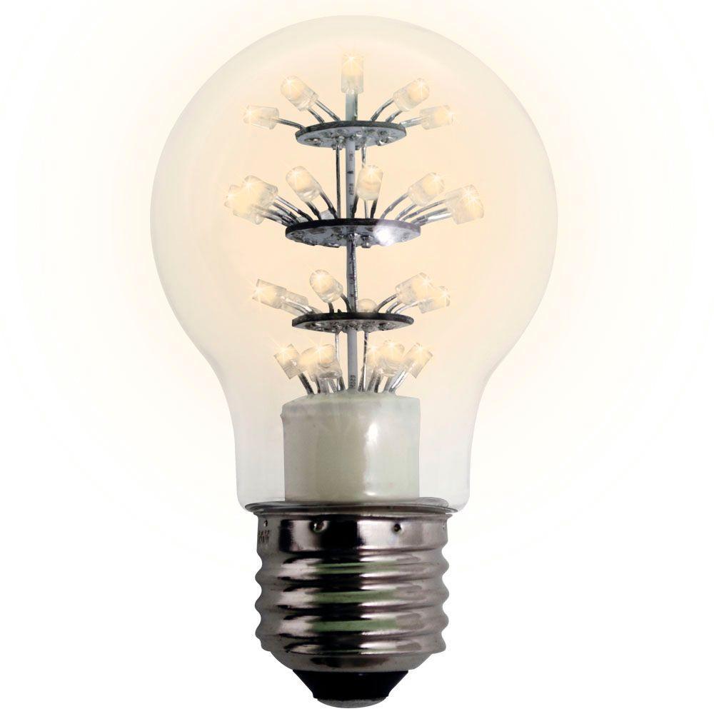 meilo 25w equivalent soft white a19 dip led light bulb 60d sfkd ps60